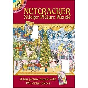 Nutcracker Sticker Picture Puzzle (Dover Little Activity Books)