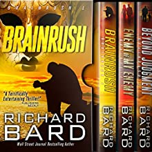 The Brainrush Trilogy: Box Set Audiobook by Richard Bard Narrated by R.C. Bray