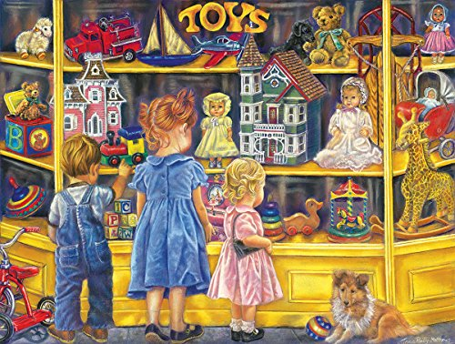 Shopping for Toys 300 Piece Jigsaw Puzzle by Sunsout Inc.