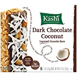 Kashi Fruit & Grain Bar, Dark Chocolate Coconut, Layered Granola, 1.1 oz Bars,  6 Count,  (Pack of 6)