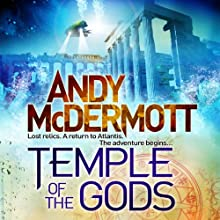 Temple of the Gods Audiobook by Andy McDermott Narrated by Gareth Armstrong