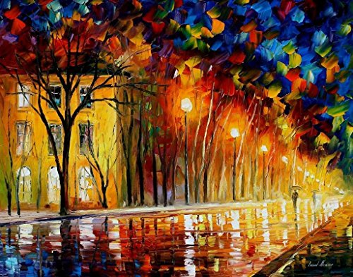 ***SPRING SALE***INNER WARMTH is an OVERSIZED, ONE-OF-A-KIND, ORIGINAL OIL PAINTING ON CANVAS by Leonid AFREMOV