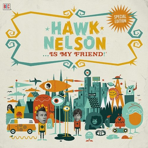 Hawk Nelson Is My Friend (CD/DVD)