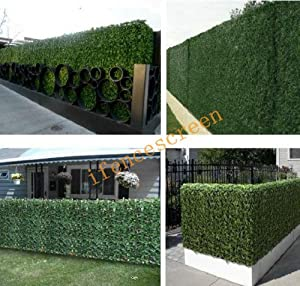 Patio lawn garden outdoor d cor decorative fences for Tall outdoor privacy screen panels
