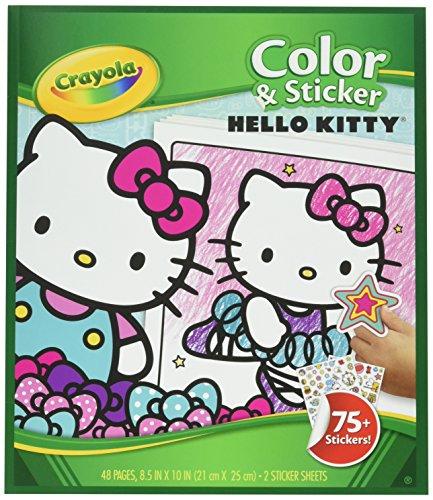 ''Crayola Color & Sticker, HELLO KITTY (04-0221)''