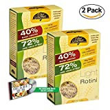 Value 2 Pack: FiberGourmet Light Low Carb Pasta and Noodles, 8 oz., Includes KetoLife's Low Carb Diet Recipe E-Book (Rotini)