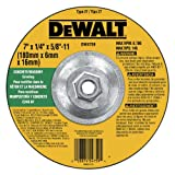 DEWALT DW4759 7-Inch by 1/4-Inch by 5/8-Inch-11 Concrete/Masonry Grinding Wheel