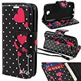 LG Optimus Zone 3 Case, SOGA® [Pocketbook Series] PU Leather Magnetic Flip Design Wallet Case for LG Optimus Zone...