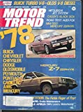 MOTOR TREND Audi Fox Automatic road test Mercury Zephyr 10 1977