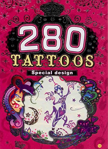280 Temporary Tattoos - Wild & Wicked - Style 12