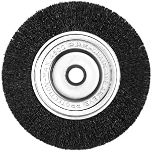 Century Drill And Tool 76853 Fine Bench Grinder Wire Wheel