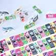 Wonder Clips DESIGNER COLLECTION - Exclusive Designs! All Purpose Craft Clips - Perfect for Sewing Clips, Quilting Clips, Arts & Crafts & More - Evergreen Art Supply -100% THRILLED Customer Guarantee!