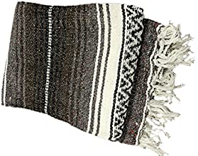 Mexican Falsa Blanket Dark Brown amp BeWild Bracelet