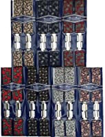 Mens High Quality Boxed Paisley Trouser Braces Width 35MM - ONE SIZE