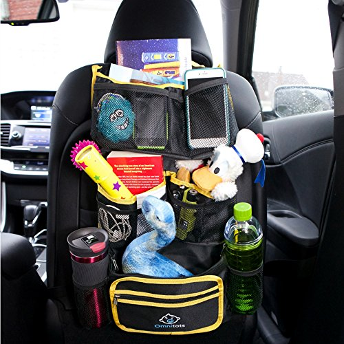 Toy Car Back Seat Organizer : Backseat organizer best for car suv truck hanging