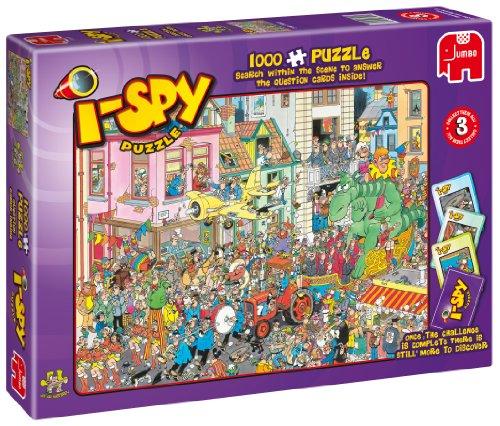 Cheap Jumbo Jumbo 'I-Spy Carnival' 1000 Piece Jigsaw Puzzle by Jan van Haasteren (B0043VDGEO)