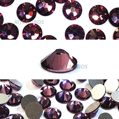 CRYSTAL ANTIQUE PINK (001 ANTP) Swarovski NEW 2088 XIRIUS Rose 34ss 7mm flatback No-Hotfix rhinestones ss34 18 pcs (1/8 gross) *FREE Shipping from Mychobos (Crystal-Wholesale)*