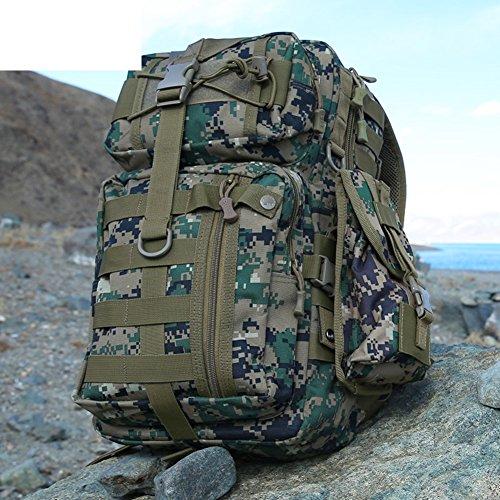 les fans de l'armée sac à bandoulière / sac à dos ordinateur / extérieur tactique sac / multifonction sac camouflage-3 35L