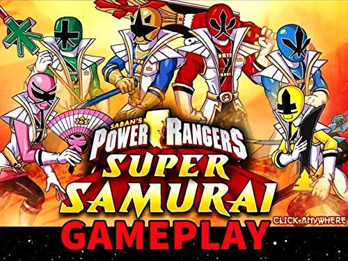 Clip: Power Rangers: Super Samurai Gameplay