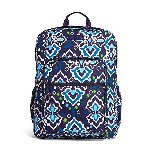Vera Bradley Lighten Up Large Backpack (Ink Blue) front-1065191