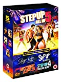 Step Up (5 Movie Collection) - 5-DVD Box Set ( Step Up / Step Up 2 - The Streets / Step Up 3 / Step Up 4 - Miami Heat / Step Up 5 - All In ) ( Le [ NON-USA FORMAT, PAL, Reg 2 Import - United Kingdom ]
