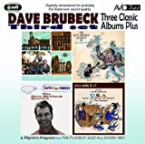 Dave Brubeck Three Classic Albums Plus (Dave Digs Disney / Southern Scene / The Dave Brubeck Quartet In Europe)