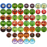 50-count TOP BRAND COFFEE K-Cup Variety Sampler Pack, Single-Serve Cups for Keurig Brewers
