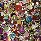 Creativity Street 6114 Sequins & Spangles, Assorted Metallic Colors, 4 oz/Pack (CKC6114)