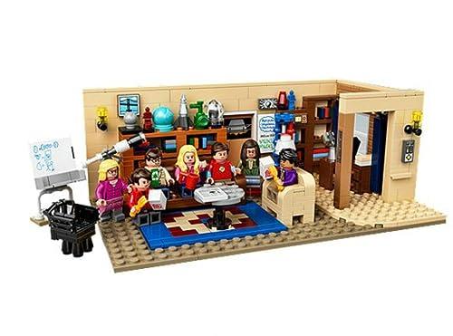 LEGO 乐高 IDeas系列 生活大爆炸 21302 The Big Bang Theory