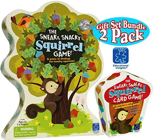 Educational-Insights-The-Sneaky-Snacky-Squirrel-Game-The-Sneaky-Snacky-Squirrel-Card-Game-Deluxe-Gift-Set-Bundle-2-Pack