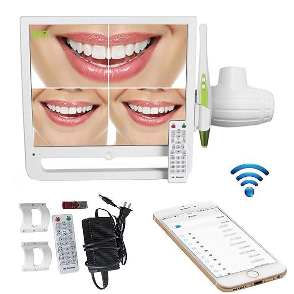 High Resolution 17 Inch 10 Million Pixels WiFi Digital LCD AIO Monitor I-n-t-r-a o-r-a-l Camera Multimedia Input