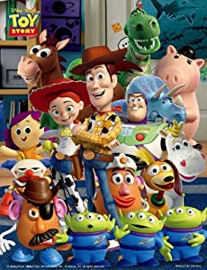 And his friends bubble wrap Disney Jigsaw Puzzle 500 Piece Woody (Toy Story) 41-94 (japan import)