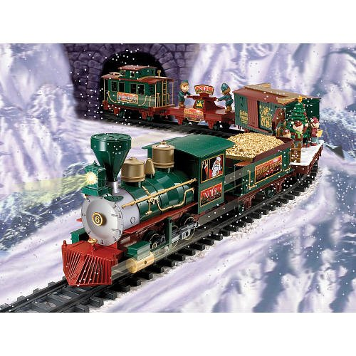North Pole Express Christmas Train Set Rc G Scale Review