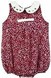 Snuggles Sleeveless Infant Romper - Red (6-12M)