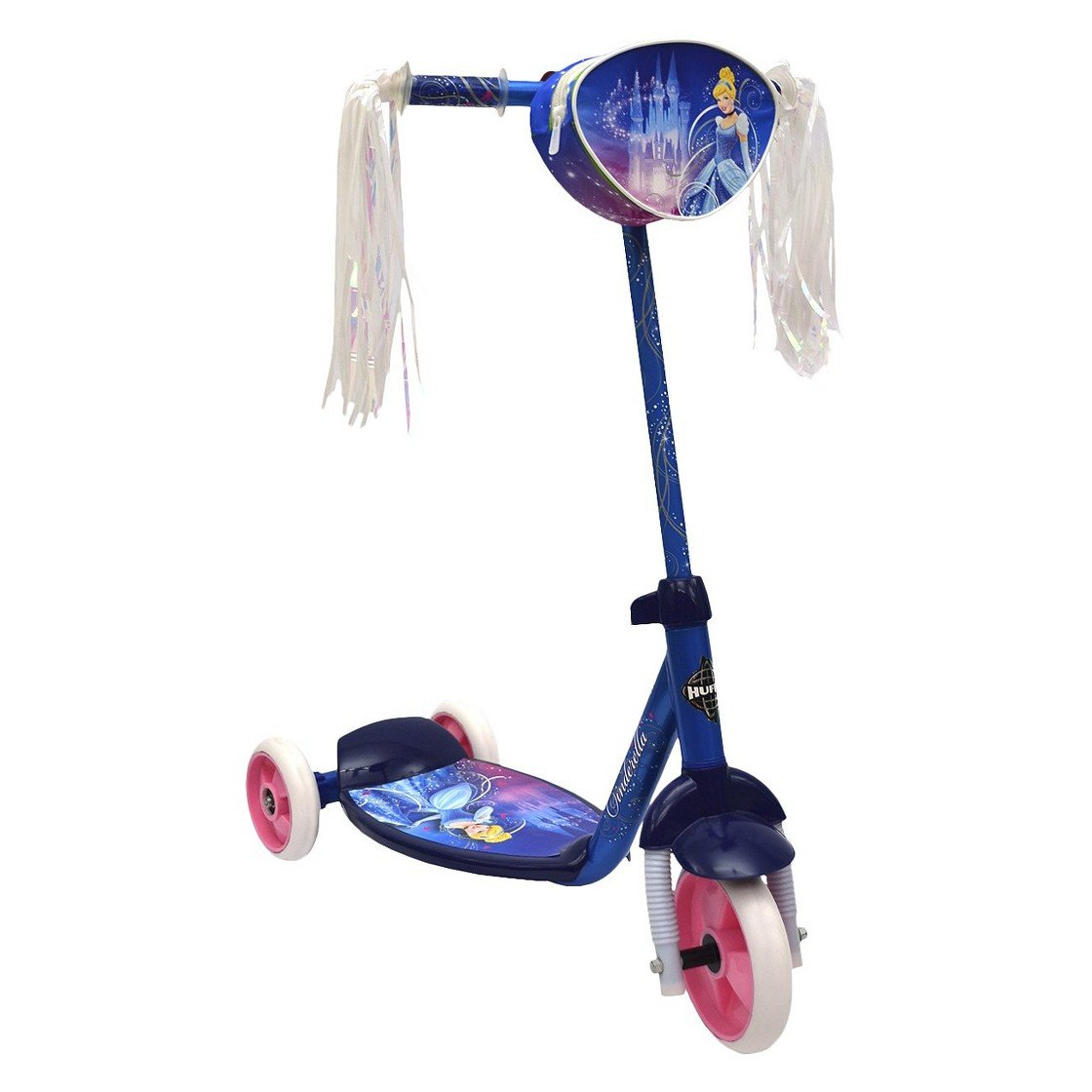 Huffy Disney Cinderella 3-wheel Girl's Scooter