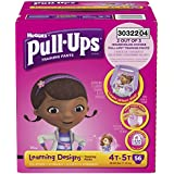 Pull-Ups Training Pants with Learning Designs for Girls, 4T-5T, 56 Count (Packaging May Vary)