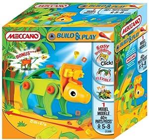Meccano Mini Build and Play Dinosaurs (Style Varies)
