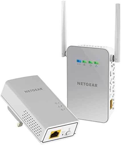 Netgear Adaptateur Adaptateur avec Gigabit port et booster WiFi  1000 Mbps