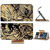 Death Fantasy Art Digital Artwork Coffin HTC One M7 Flip Cover Case with Card Holder Customized Made to Order Support Ready Premium Deluxe Pu Leather 5 11/16 inch (145mm) x 2 15/16 inch (75mm) x 9/16 inch (14mm) MSD HTC One Professional Cases Accessories Open Camera Headphone Port Graphic Covers Designed 1 Model Folio Sleeve HD Template Designed Wallpaper Photo Jacket Wifi Luxury Protector Wireless Cellphone Cell Phone