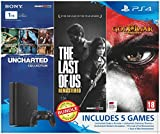 #6: Sony PS4 1 TB Slim Console (Free Games: Uncharted Collection, TLOU Remastered, GOW Remastered)