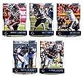 2016 Score Chicago Bears Veterans Team Set of 10 Football Cards: Jay Cutler(#54), Matt Forte(#55), Jeremy Langford(#56), Alshon Jeffery(#57), Martellus Bennett(#58), Kevin White(#59), Marquess Wilson(#60), Eddie Royal(#61), Lamarr Houston(#62), Pernell Mc