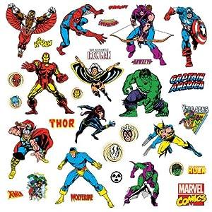Amazon Com Roommates Rmk2328scs Marvel Character Peel And