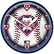 Philadelphia Phillies MLB Round Wall Clock