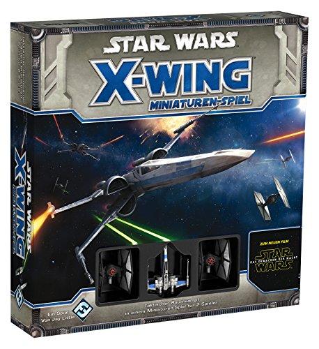 Heidelberger Spieleverlag HEI0450 - Star Wars X-Wing, Il risveglio della forza - Gioco di miniature, set base [lingua tedesca]