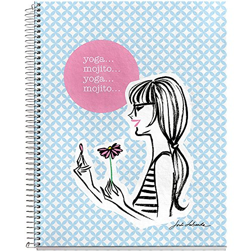 miquel-rius-notebook-165-cm-x-20-cm-yoga-mojito-acrylique-multicolore-3-pieces