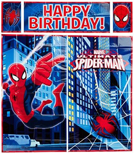 5-Piece Spider-Man Scene Setter Set, Multicolored