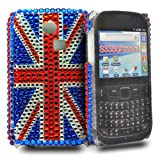 Accessory Master Solid Gel Case for Samsung Galaxy Chat S3350 Diamond Union Jack