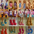 Bhbuy 15 Items Fashion Party Daily Wear Dress Outfits Clothes Shoes For Barbie Doll
