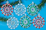 Design Works Starburst Ornaments
