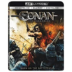 Conan The Barbarian [4K Ultra HD + Blu-ray]